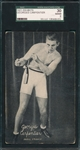 1921 Exhibits Boxing Klaus, McFarland & Carpentier, Lot of (3), SGC *PC Backs*