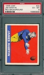 1948 Leaf FB #24 James Martin PSA 6
