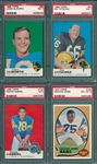 1969-70 Topps Lot of (4) W/ 69 #69 Alworth PSA 7