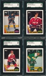 1987-88 Topps Hockey Lot of (38) W/ LaFontaine SGC 96 *MINT*
