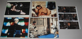 James Bond Actors Lot of (5) Signed 8 X 10s, bbc Authentic