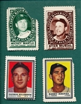 1961-62 Topps Baseball Stamps Lot of (149) W/ Mantle