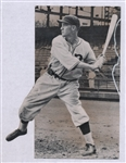 "1920s Mel Ott Type A Photo, ""The Sporting News Collection Archives"""
