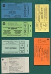 Entertainment & TV Shows Tickets Lot of (7)