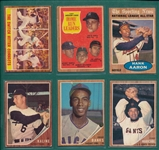 1962 Topps Partial Set (429) W/ Mantle