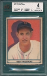 1941 Play Ball #14 Ted Williams BVG 4