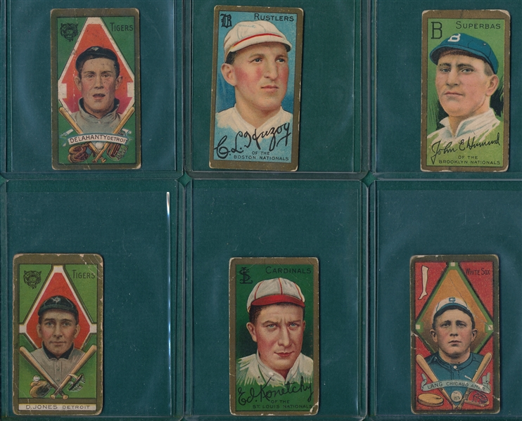 1911 T205 Lot of (18) W/ Fred Clarke
