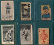 1915-20s E & Ws, Lot of (6) W/ Sisler