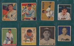 1933-51 Baseball Lot of (6) W/ Pie Traynor