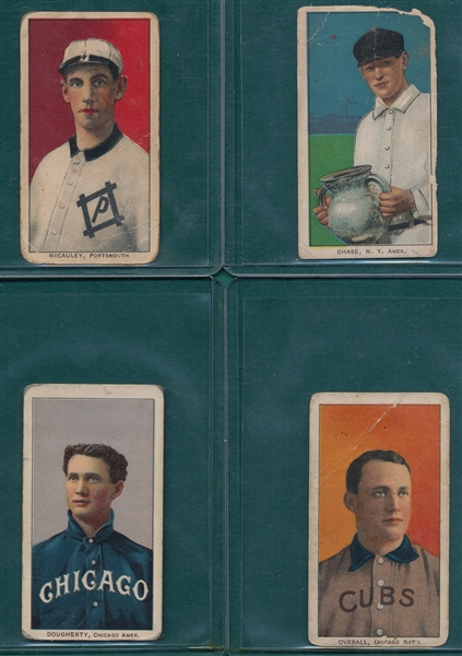 1909-1911 T206 Lot of (4) W/ Chase