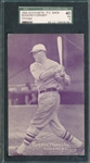 1926-29 Exhibits Rogers Hornsby SGC 40 *PC Back*