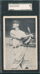 1923-24 Exhibits George Burns SGC 40