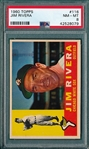 1960 Topps #116 Jim Rivera PSA 8 *Low Pop*