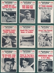 1961 Nu-Cards Baseball Scoops Complete Set (80)