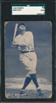 1928 Exhibits Babe Ruth SGC 10