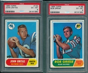 1968 Topps Football Near Set (218/219) *Crease Free*
