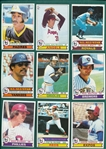 1979 Topps Complete Set (726) W/ Ozzie Smith, Rookie