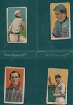 1909-1911 T206 Lot of (4) W/ Bender, No Trees