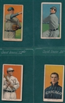 1909-1911 T206 Lot of (4) W/ Murray