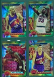 1993 Topps Finest Basketball Refractors Lot of (149) W/ Barkley