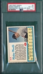 1962 Post Cereal Mickey Mantle, Life Magazine Ad, PSA 4