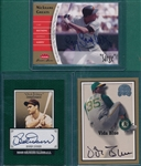 2000-2006 Signature Inserts Lot of (3) W/ Doerr