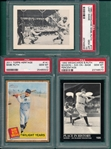 1980-2011 Lot of (3) Babe Ruth Cards, Lot of (3) PSA 10