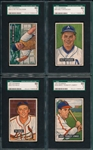 1951 Bowman Lot of (24), SGC 50 & 60