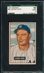 1951 Bowman #50 Johnny Mize SGC 50