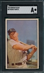 1953 Bowman Color #59 Mickey Mantle SGC Authentic