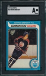 1979-80 Topps HCKY #18 Wayne Gretzky SGC Authentic *Rookie*