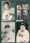 1970s George Brace Postcard Collection (83) W/ DiMaggio, Mantle & (3) Ruths