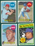 1969 Topps Lot of (147) W/ Rose