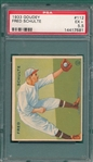 1933 Goudey #112 Fred Schulte PSA 5.5