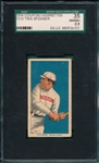 1914 T213-2 Tris Speaker Coupon Cigarettes SGC 35