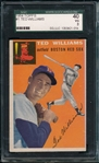 1954 Topps #1 Ted Williams SGC 40