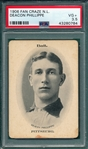 1906 Fan Craze NL Deacon Phillippe PSA 3.5