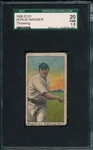 1909 E101 Honus Wagner, Throwing, SGC 20