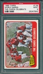 1965 Topps #139 World Series, The Cards Celebrate, PSA 9 *MINT*