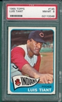 1965 Topps #145 Luis Tiant PSA 8 *Rookie*