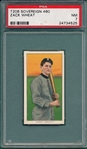 1909-1911 T206 Zach Wheat Sovereign Cigarettes PSA 7 *460 Series* *Rookie*