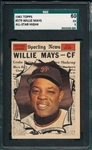 1961 Topps #579 Willie Mays, AS, SGC 60 *Hi #*