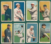 1909-1911 T206 Lot of (8) W/ Smith, Chicago
