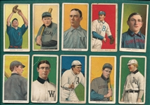 1909-1911 T206 Lot of (10) W/ Goode