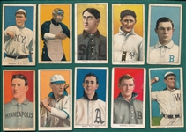 1909-1911 T206 Lot of (10) W/ Barry