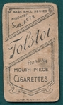 1909-1911 T206 Jennings, One Hand, Tolstoi Cigarettes