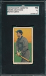 1909-1911 T206 Abbaticchio, Brown Sleeves, Piedmont Cigarettes SGC 40