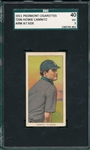 1909-1911 T206 Camnitz, Arm At Side, Piedmont Cigarettes SGC 40