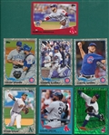 2013 Topps Update Colored Parallels, Walmart Blue, Target Red, Emerald & Camo, Lot of (379)