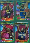 1993 Topps Finest Basketball Refractors Lot of (129) W/ Karl Malone